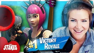 HIGH STAKES WIN w/ Ghost Bizzle (Fortnite: Battle Royale Gameplay) | KittyPlays