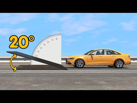 What Angle Is Best For Jumping In A Car Competition - Beamng Drive | Car Pal