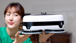 에브리봇 엣지 물걸레 로봇청소기 - 귀엽다고 안봐준다!…