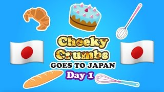 Cheeky Crumbs goes to Japan - Day 1 - Tokyo DisneySea and Disneyland