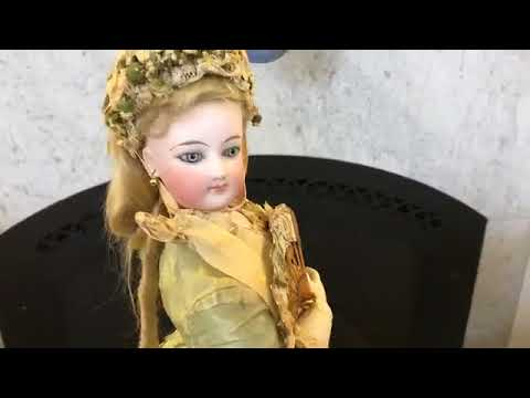 Part Two: 'Second Empire Splendor' Antique French Fashion Dolls