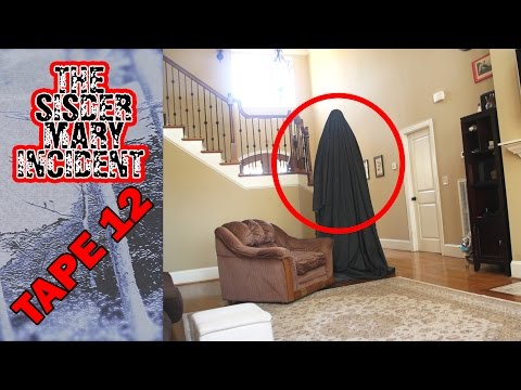 The Sisder Mary Incident Tape 12 Ghost Caught on Video Camera