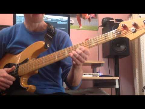how to play funk slap bass
