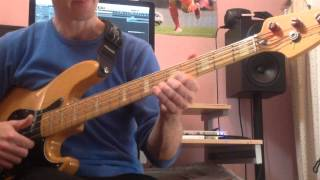 Forget Me Nots - Classic funk Bass tutorial - slap bass