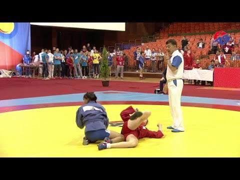 World Youth & Junior Sambo Championships 2017. Day 1. Preliminaries Mat 3