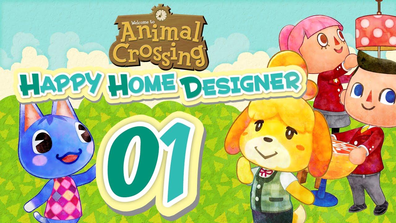 Animal Crossing Happy Home Designer 01 Deutsche Bersetzung Let 39 S Play Youtube