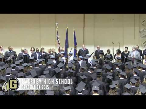 Gaffney High School Graduation 2015