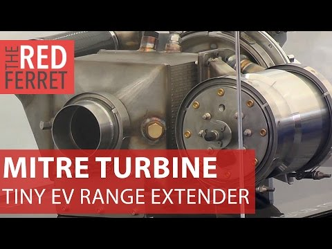 MiTRE Range Extender - tiny turbine power removes EV range anxiety [First Looks]
