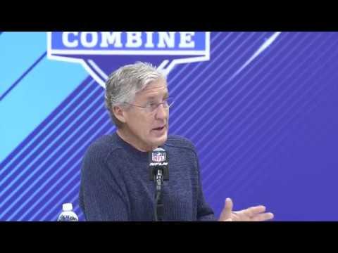 Pete Carroll NFL Combine Press Conference