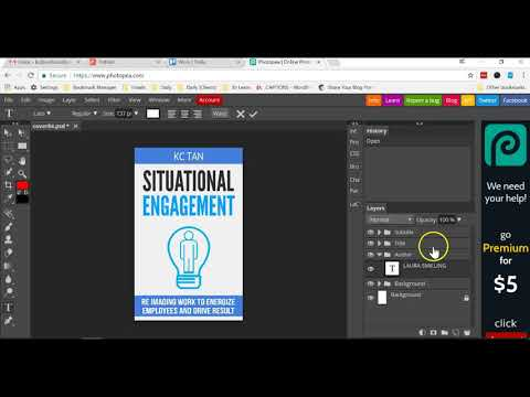 How To Edit PSD File Without Photoshop (using Free Online Tool)