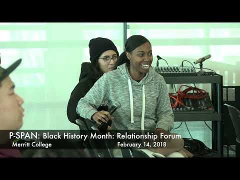 "P-SPAN #618: Black History Month at Merritt College: ""Black Relationships"" workshop"
