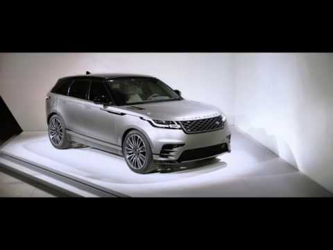 Range Rover Velar launches at Design Museum London