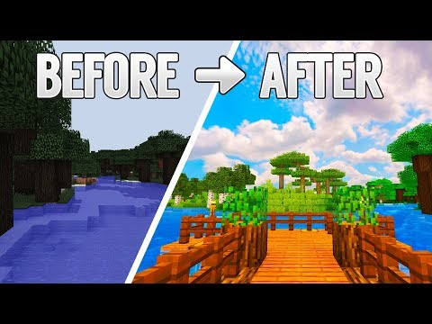 NO FPS LOSS! - BEST PACKS FOR LOW END PC   Minecraft 1.12.2