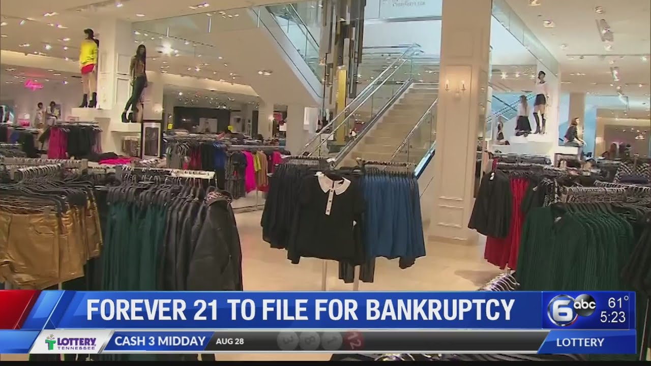 Nothing Lasts, Forever 21 Discovers, As Another Clothing Chain Files For Bankruptcy