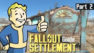 FALLOUT 4 - SETTLEMENT BUILD GUIDE 2 - How To Zoom In, Rotate & Move Objects