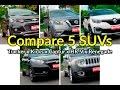 Compare os SUVs: Tracker x HR-V x Renegade x Kicks x Captur   Comparativo   Best Cars