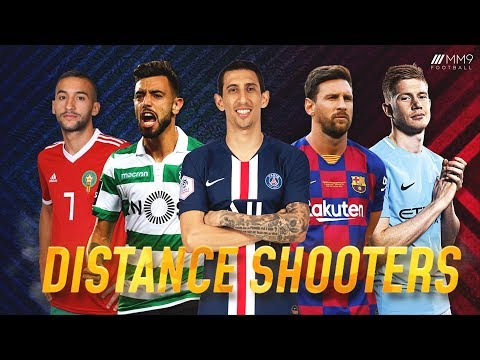 Top 10 Distance Shooters In Football 2020 ● HD