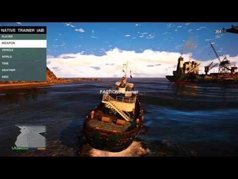 Grand Theft Auto V (heavy) sea and sky