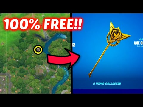 Hidden Free Rewards In FORTNITE! | Free Exp, Pickaxe, And More
