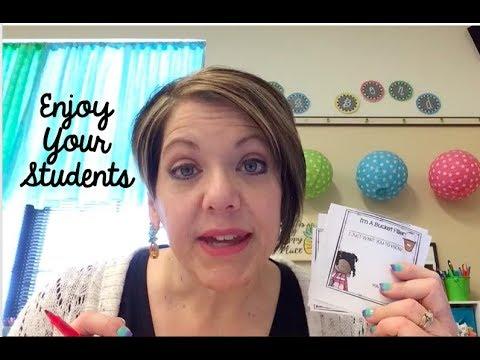 Classroom Vlog #27a | 2017-2018 | Enjoy Your Students
