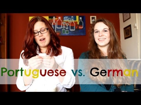 The LANGUAGE CHALLENGE - Portuguese vs. German   SoLuckyDarleen
