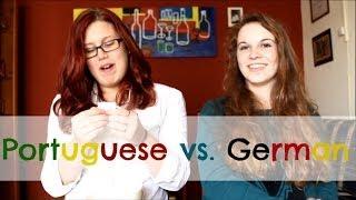 The LANGUAGE CHALLENGE - Portuguese vs. German | SoLuckyDarleen