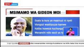 Gideon Moi atoa maoni kuhusu kura ya maamuzi