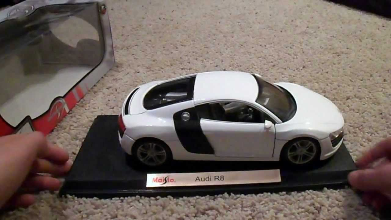 maisto audi r8 model car review youtube. Black Bedroom Furniture Sets. Home Design Ideas