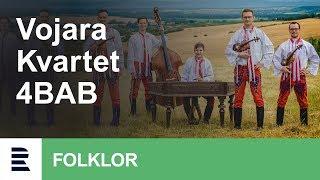 Cimbálová muzika Vojara a vokální kvartet 4BAB   Na živú notečku