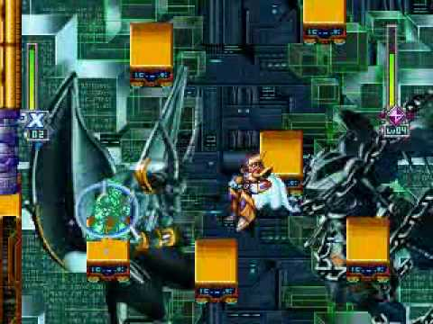 ROCKMAN X6 - Shadow Armor VS Gate