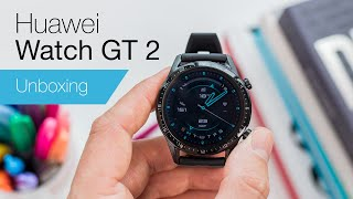 Huawei Watch GT 2 unboxing & first impressions