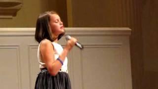 Jaycie sings Faith Hill