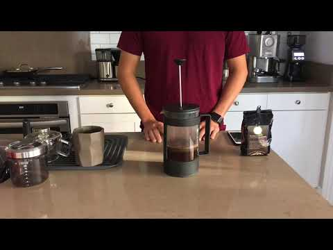 Bodum French Press - HimilayanArabica Greenland Organic Farm - medium dark roast