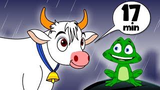 Vana Vana Vallappa   More Telugu Rhymes For Kids   2D Animation   Children Collection Cartoon Songs