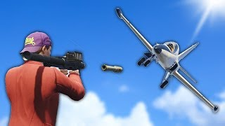 RPG VS PLANE! (Grand Theft Auto 5 Online)