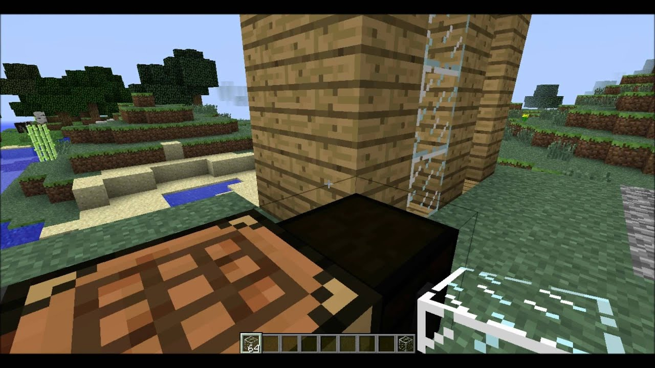 minecraft tutorial hoe maak je glas glass pane youtube. Black Bedroom Furniture Sets. Home Design Ideas