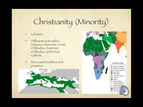 Religions and Ethnic Groups within the Arab World
