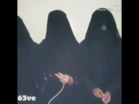 Arab girls trying hookah funny video
