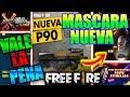 FREE FIRE Nuevo Evento Maestro De Cuchillos (ANÁLISIS A LA P90) Mascara Nueva