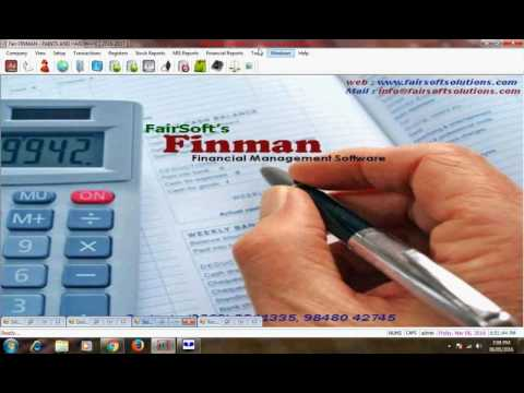 Fair Finman Software for Paints & Hardware