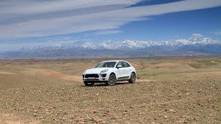 Первый тест-драйв Porsche Macan: серпантины и пески Марокко(Тест-драйв Porsche Macan в горах и песках Марокко. Мы посмотрели в деле все версии - и Porsche Macan Diesel, и Porsche Macan Turbo,..., 2014-07-23T08:51:23.000Z)