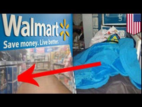 People of Walmart: runaway kid sleeps at Walmart, employee stabbed to death