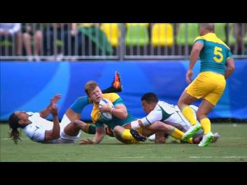 Highlights |Rugby Sevens Men |Rio 2016 |SABC