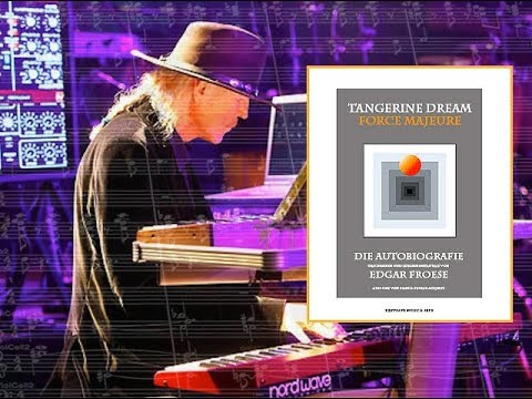 Edgar Froese's autobiography of Tangerine Dream – »Force Majeure«