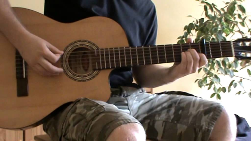 Dirty Paws acoustic guitar cover with TAB - acoustic guitar lesson ...