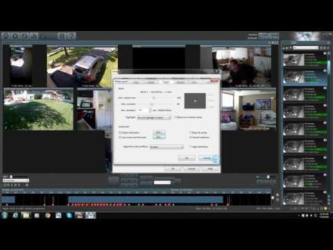 Blue Iris IP security camera software walk through