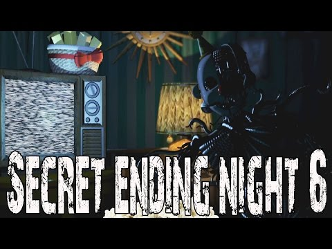 FIVE NIGHT'S AT FREDDY'S SISTER LOCATION NIGHT 5 SECRET FAKE ENDING (FNAF SISTER LOCATION)
