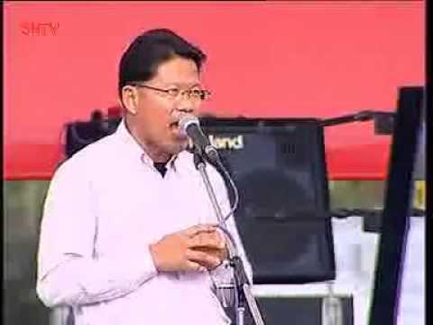 ทนาย คารม พลพรกลาง นปช ลั่นกลองรบ อักษะ พุทธมณฑล กทมฯ 5 4 2014