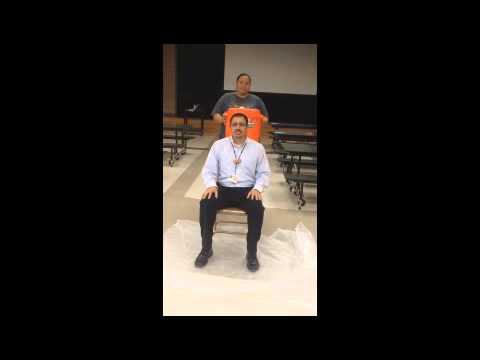 Jim Barnes Middle School Ice Bucket Challenge