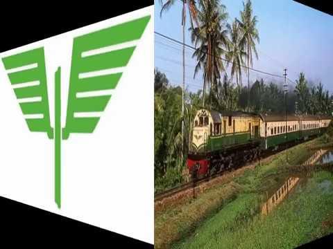 Nada stasiun Kereta api Indonesia era PJKA, versi cepat dan lambat (MIDI Version)